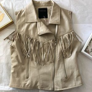 Therapy Fringe Vest